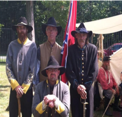 Train may 2016 civil war soldiers